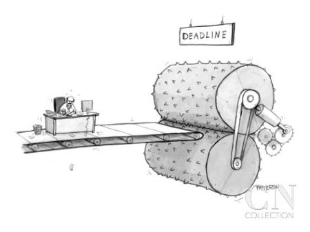 aero deadline